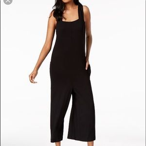 Eileen Fisher Crop Jersey Jumpsuit